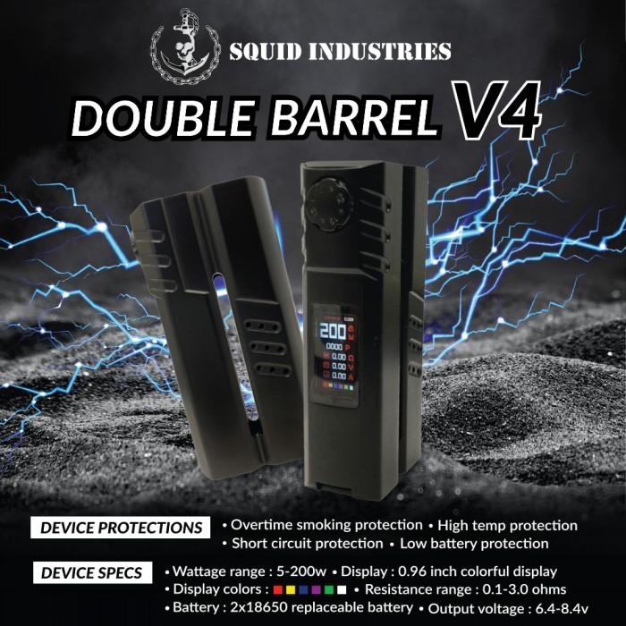 SQUID INDUSTRIES DOUBLE BARREL V4 MOD