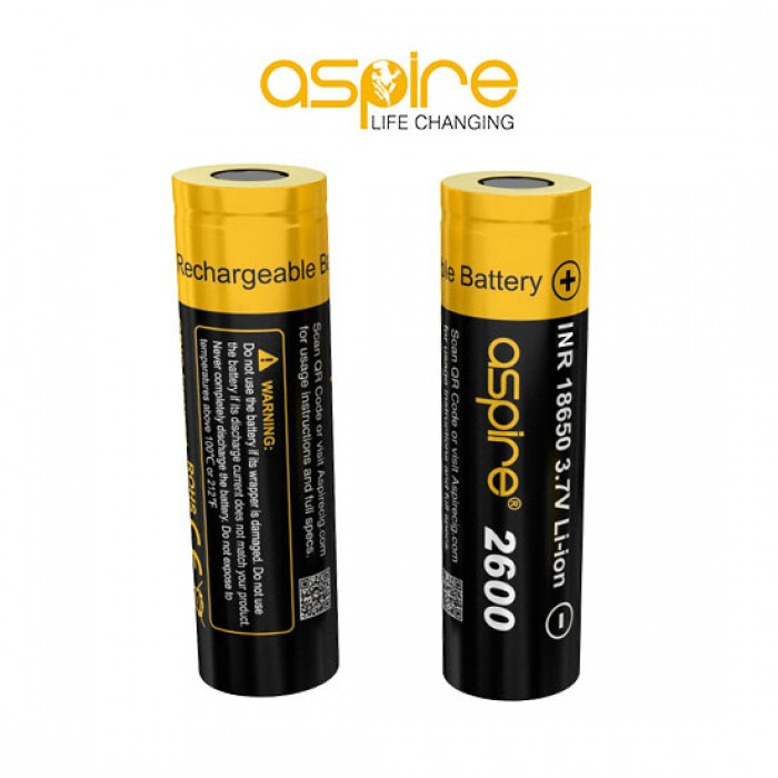 Aspire 18650 Battery (2600mAh)