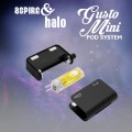 Aspire x Halo Gusto Mini Kit (MSRP $ 29.99)