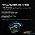 FreeMax _ Twister 80W Kit with Fireluke 2 Tank