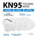 KN95 Folding Mask ( 20 Pcs / Box )  _ K1019