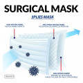Disposable Protective Face Mask  ( 50 Pcs / BOX )  _ S6001