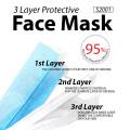 3 Layer Protective Face Mask  ( 50 Pcs / BOX )  _ S2001