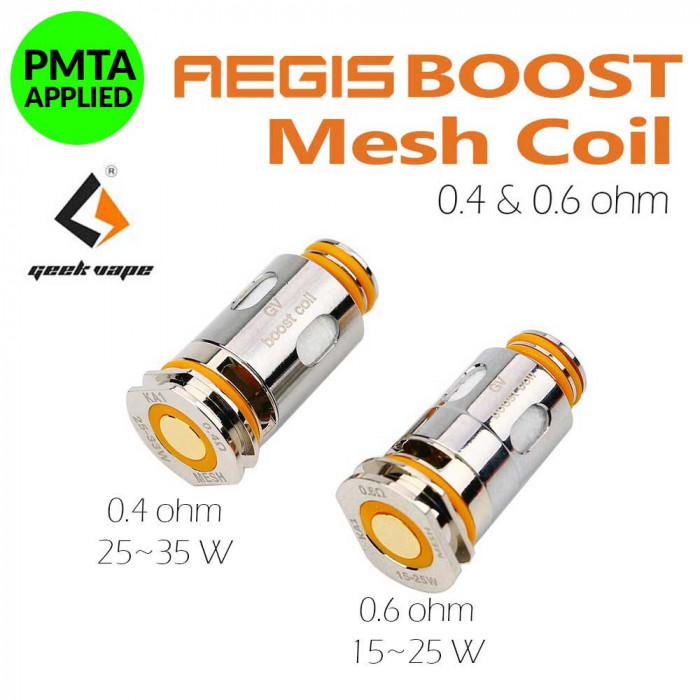 Geek Vape Aegis Boost Replacement Coils [ 5 pcs / Pack ]
