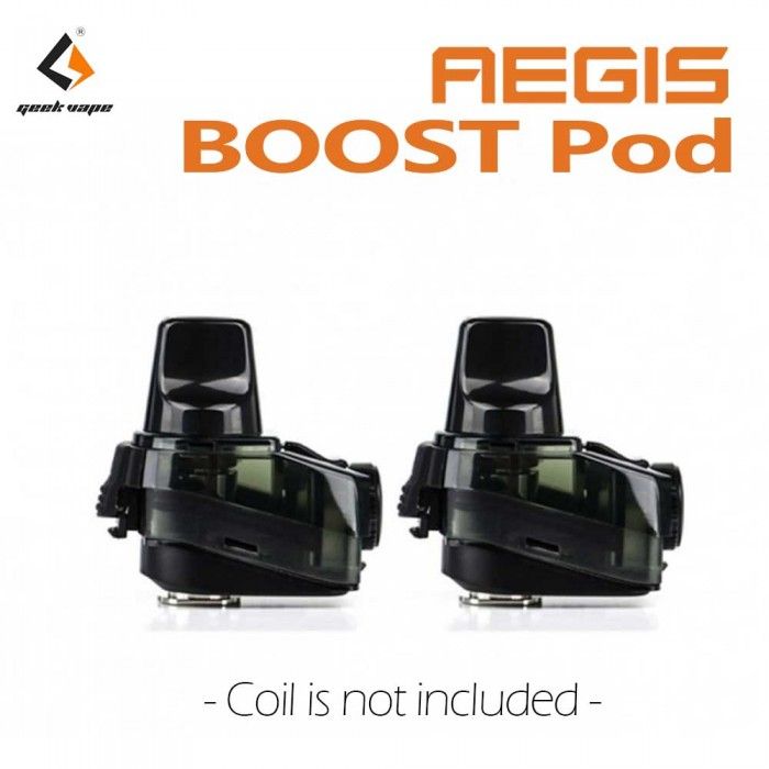 Geek Vape Aegis Boost Replacement Empty Pods [ 2 pcs / Pack ]