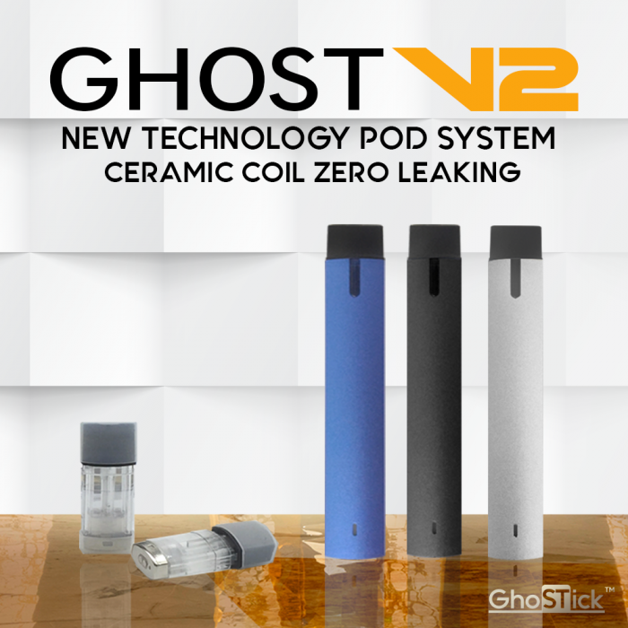 Ghost V2 Pod System with Ceramic Pod (MSRP $35)