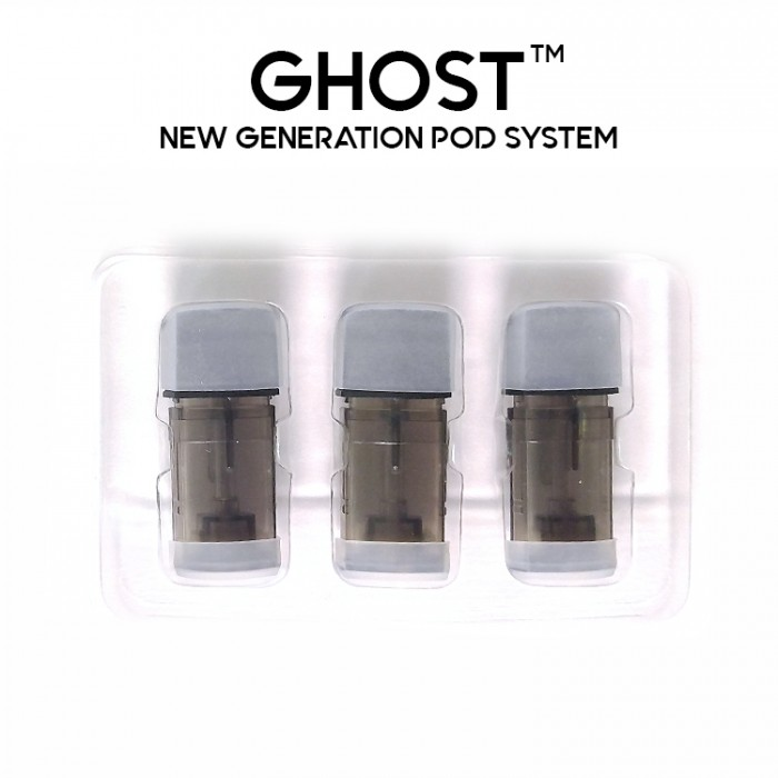 Ghost Pod System - Extra pods (3pcs/box)