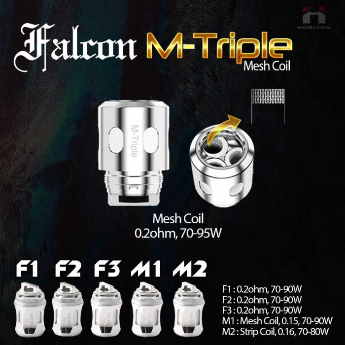 Horizon Falcon Coils _ F1 / F2 / F3 / M1 / M2 / M-Triple (3pcs/pack)