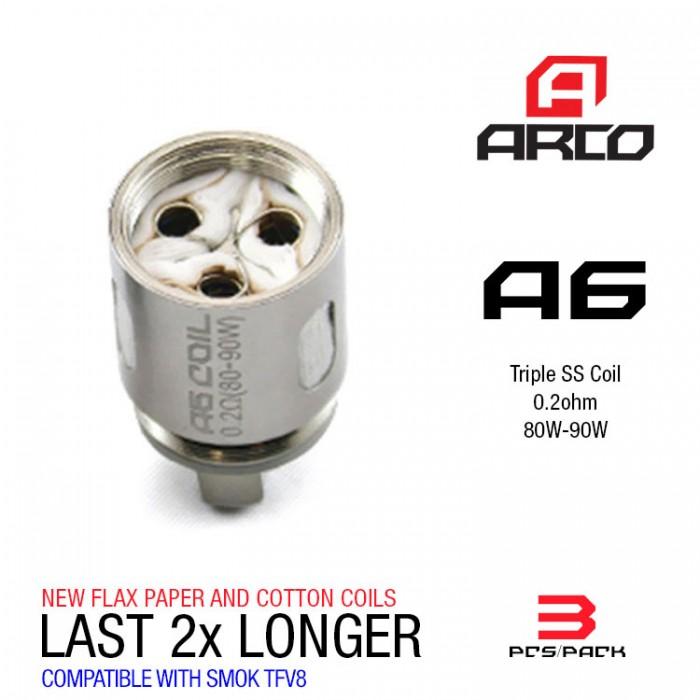 Horizon Arco Coils 0.2ohm A6 - (3pcs/box)