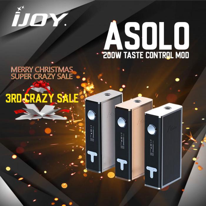 IJOY Asolo Taste Control Mod 200W - Clearance