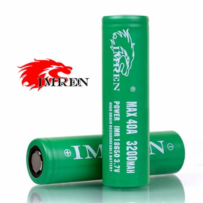 IMREN 18650 40A 3200mAh Battery 1pcs