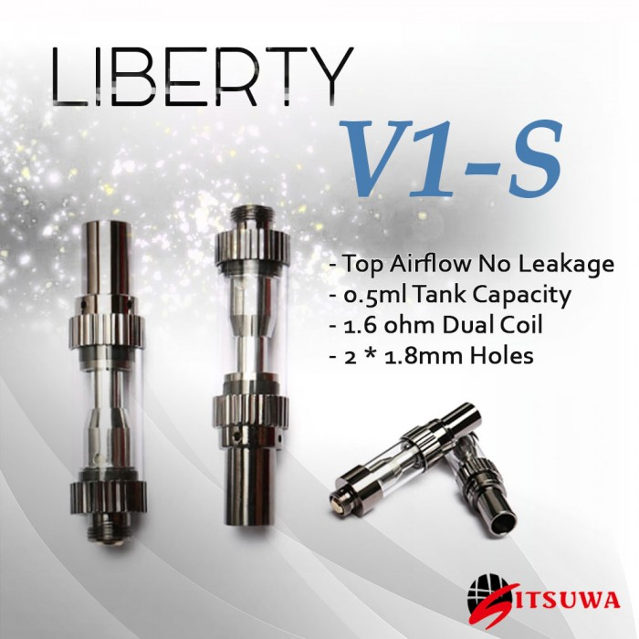ITSUWA Liberty V1-S Dual Coil Oil Tank _ 0.5 ml