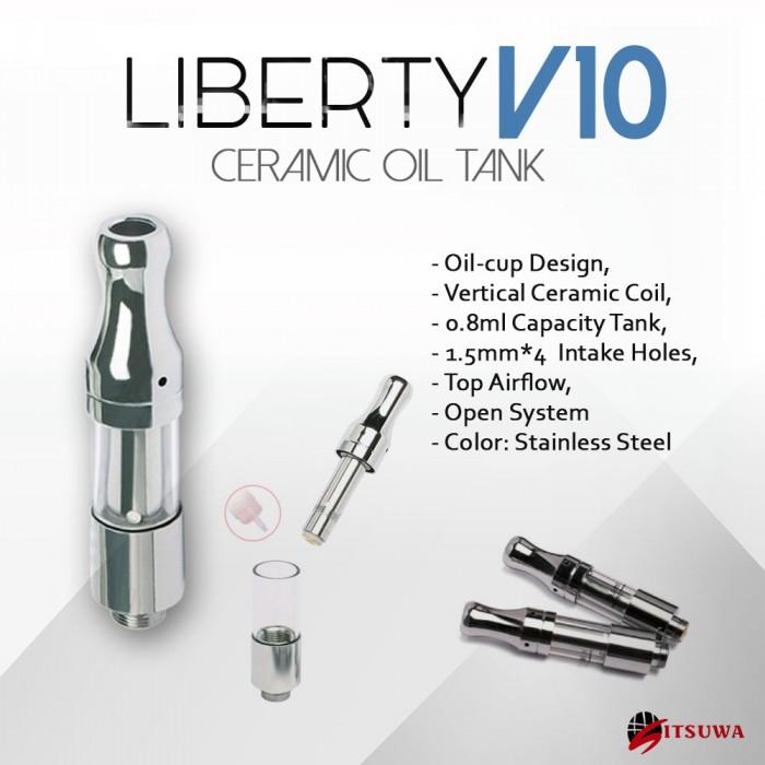 ITSUWA Liberty V10 Cup Design Ceramic Oil Tank _ 0.8 ml
