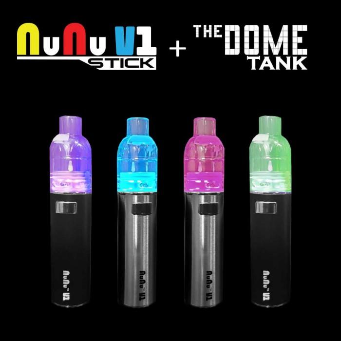 NuNu VAPE _ [KIT] _ NUNU STICK + DOME Disposable Sub-ohm Tank KIT