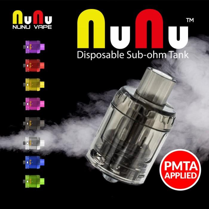 NUNU VAPE NuNu Disposable 0.15 Ω Mesh Sub-ohm Tank [ 3 pcs ]