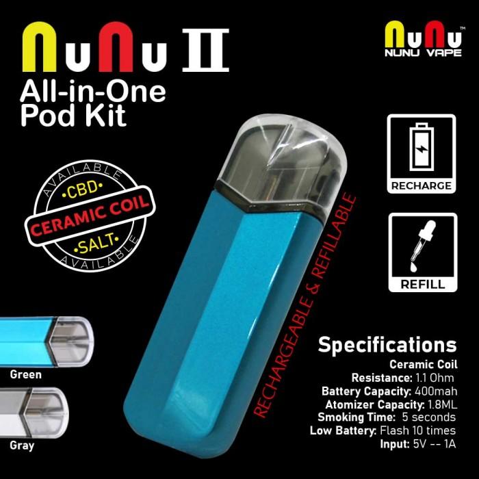 NuNu VAPE  _ NuNu 2 All in One Pod Kit