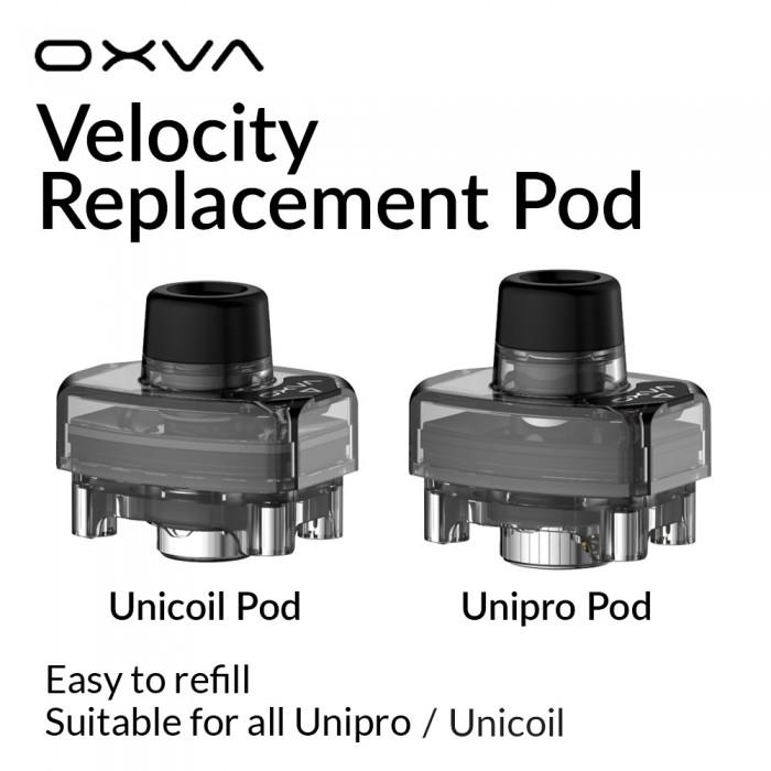 OXVA Velocity Repalcement Unicoil / Unipro Pod [ 2 pcs / Pack ]