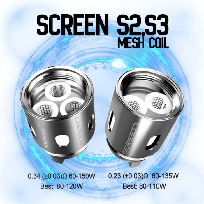 Sense SCREEN Mesh Replacement Coils