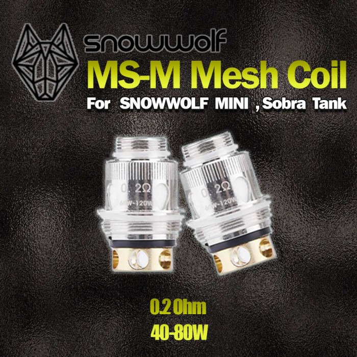 SNOWWOLF MS-M COILS For Snowwolf MINI Kit,Sobra tank