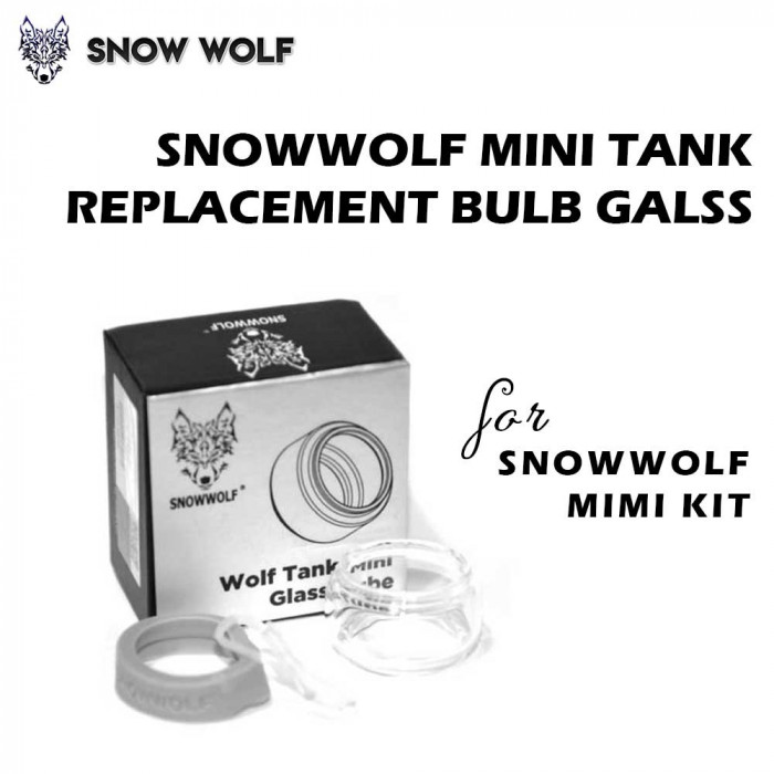 SNOWWOLF Wolf Tank Mini Replacement Glass for SNOWWOLF MINI kit  [1pc]