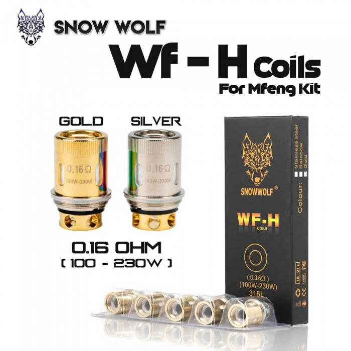 SNOWWOLF WF-H COILS For Mfeng Kit
