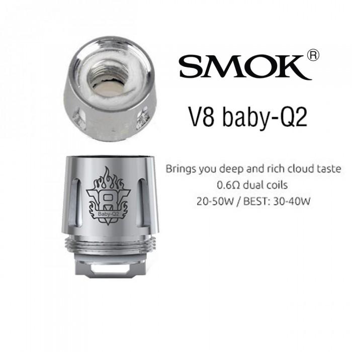 Smok TFV8 Baby Coil - Q2 (5pcs/pack)