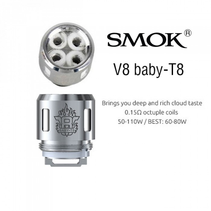 Smok TFV8 Baby Coil - T8 (5pcs/pack)