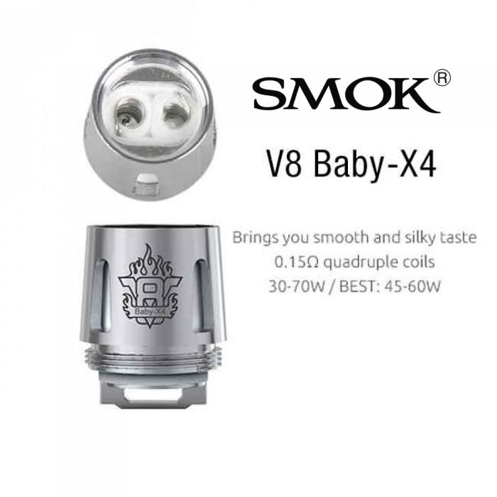Smok TFV8 Baby Coil - X4 (5pcs/pack)