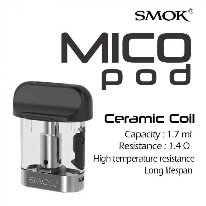 SMOK _ MICO Ceramic Pod [3pcs]