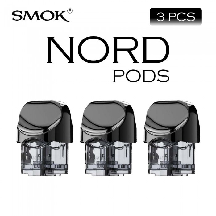 SMOK NORD Pod (No Coil Included) [ 3 pcs ]