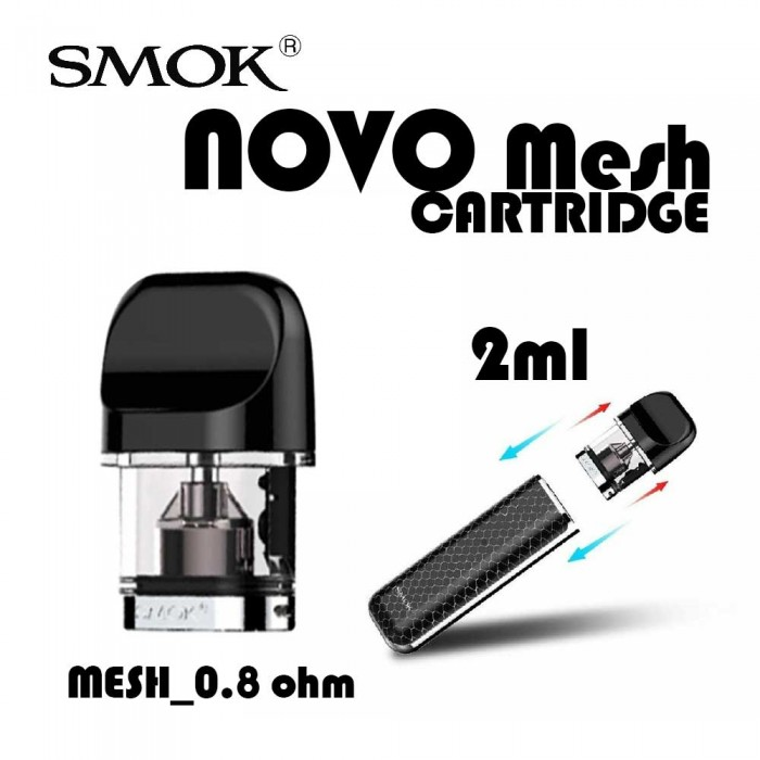 SMOK _ NOVO Mesh Replacement Cartridge [3pcs]
