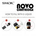 SMOK _ NOVO Replacement Cartridge [3pcs]