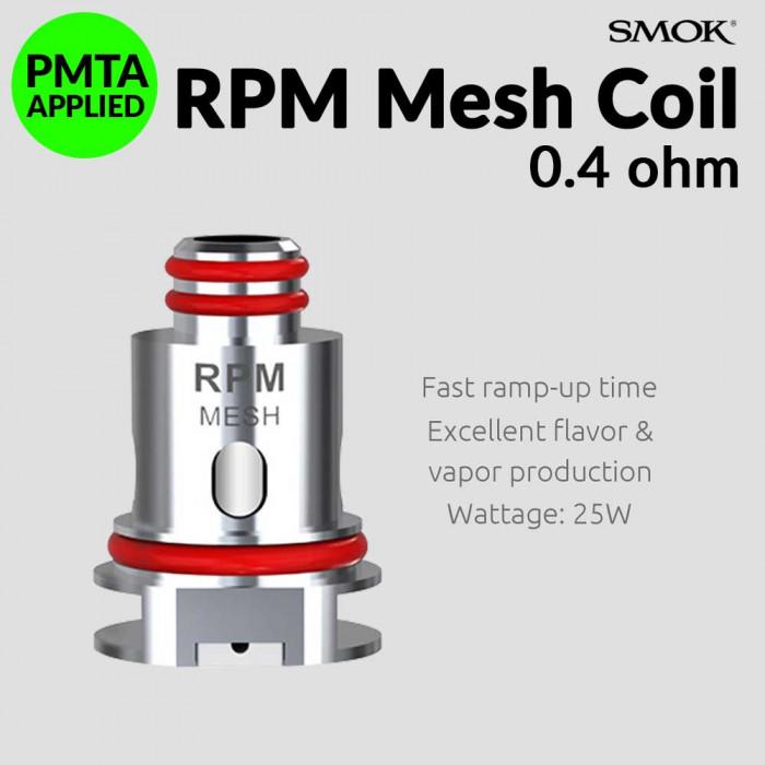 SMOK RPM 0.4 Ω Mesh Coil [ 5 pcs ]