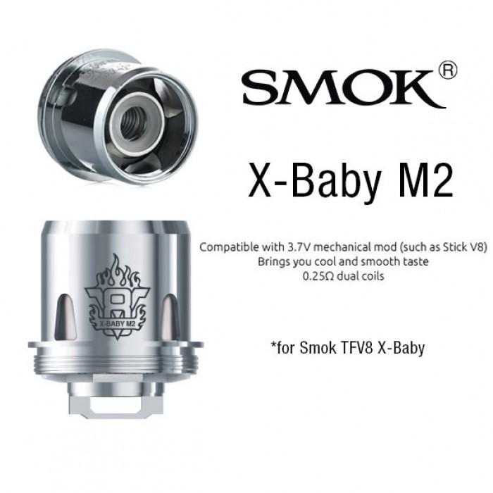 Smok TFV8 X-Baby - M2 coils (3pcs/pack)