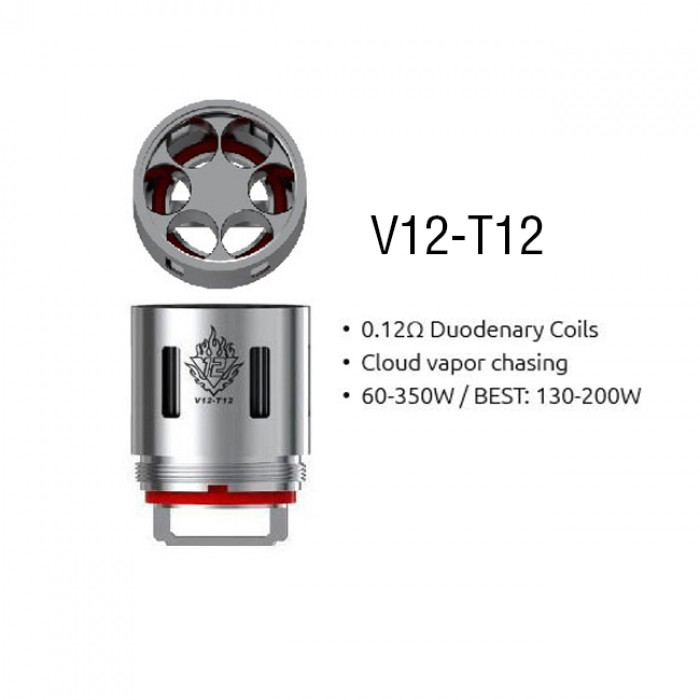 Smok V12-T12 Coils (For TFV12) (3pcs/pack)