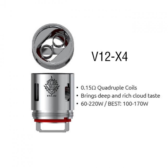 Smok V12-X4 Coils (for TFV12) (3pcs/pack)