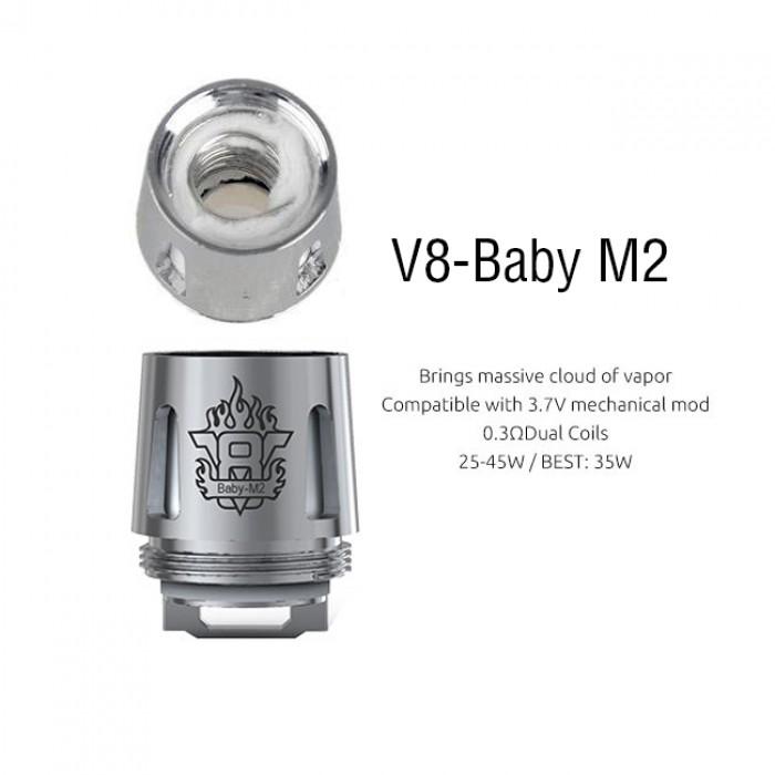 Smok TFV8 Baby Coil - M2 (5pcs/pack)