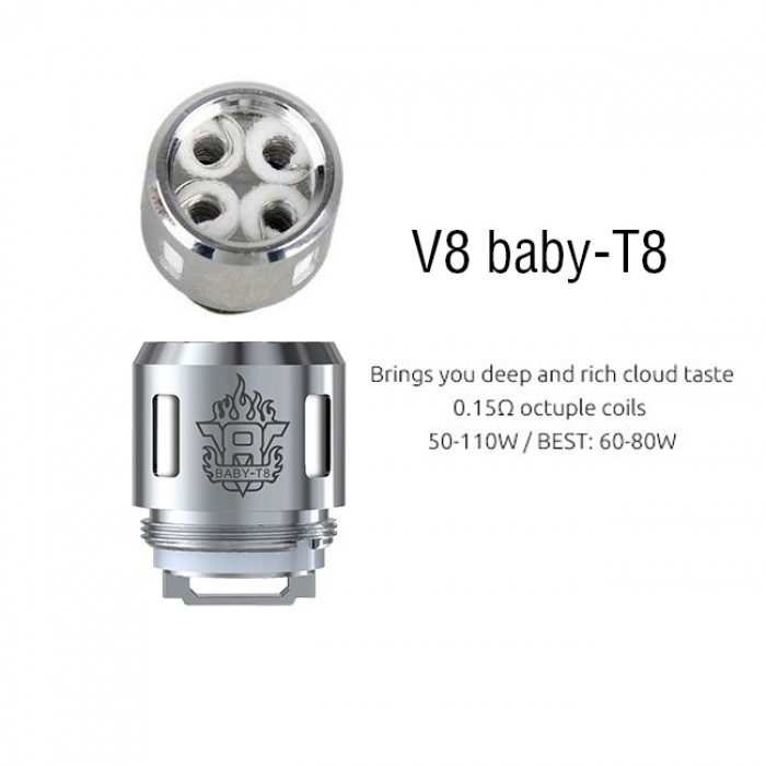 Smok TFV8 Baby Coil - T8 (5pcs/pack)