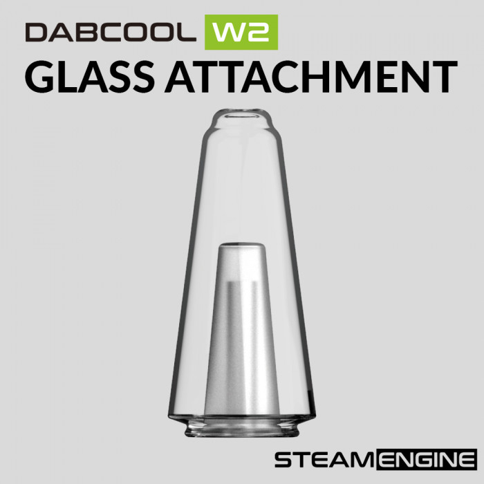 Steam Engine Dabcool W2 Glass attachment [ 1 pc ]