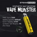 Steam Engine  Vape Monster  [Synthetic_Nicotine_Salt]