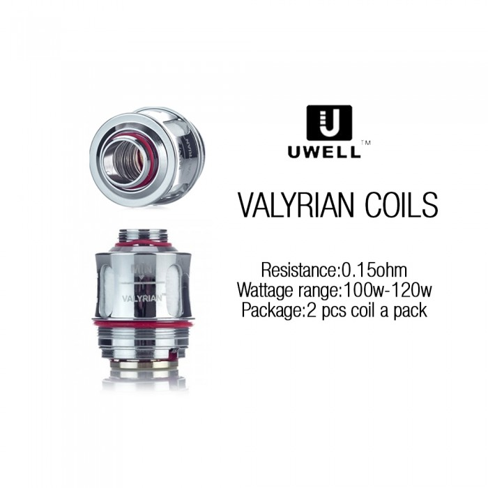 Uwell VALYRIAN Coils (0.15 ohm, 2pcs/pack)