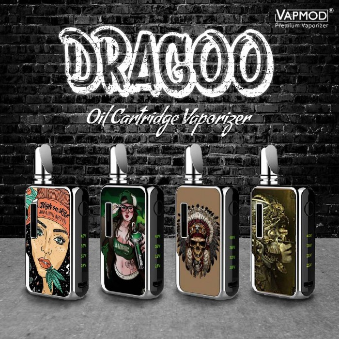 Vapmod _ Dragoo Battery Kit _ 3D Edition [ 650 mah ]