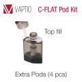 Vaptio C-FLAT Extra Tank (4pcs)