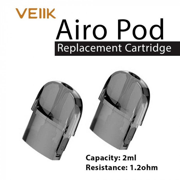 VEIIK Airo Replacement Pod Cartridge [ 2pcs/pack ]