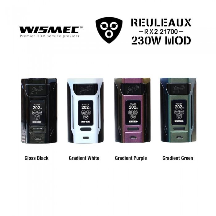 Wismec Reuleaux RX2 21700 230W MOD