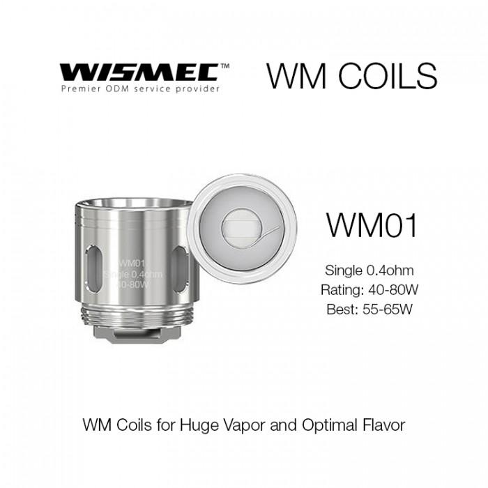 Wismec Gnome Coils - WM01 (5pcs/pack)