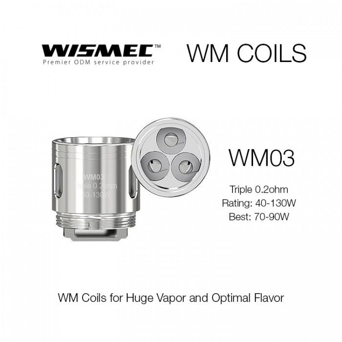 Wismec Gnome Coils - WM03 (5pcs/pack)
