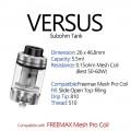Blitz _ Versus 5.5ml Sub-ohm Tank