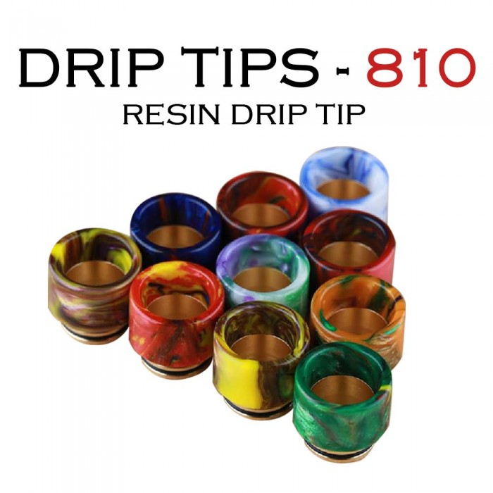Drip Tips 130 _ 810 Resin Drip Tip [ 1 pc ]