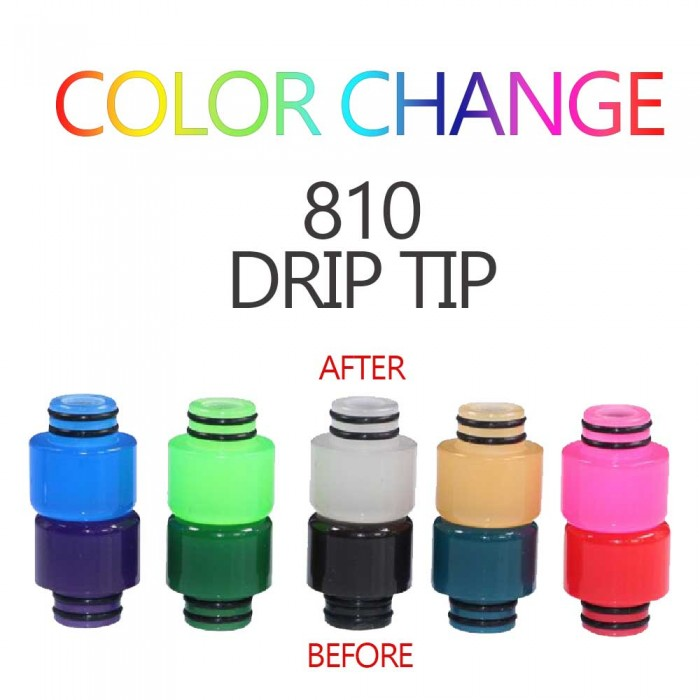 Drip Tips 136 - Color Change 810 Drip Tips